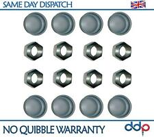For Peugeot 106 1007 205 206 309 Rear Hub Nuts & Dust Caps Set 10X 374019 693541