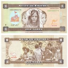 Eritrea 1 Nakfa  2015  New Colour  P-New Banknotes UNC