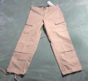 Propper Tactical Pants U Khaki Tan Beige Tactical Cargo Men's Size 34R NWT