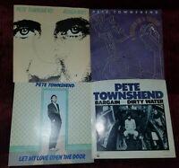 Pete Townshend 45 rpm Lot -  Like New