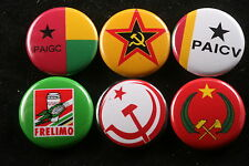World Communist Party Button Badge Lot Africa South FRELIMO Congo Tunisia 6