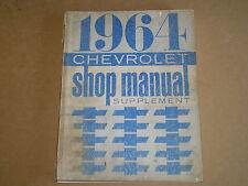 New listing 1964 Chevrolet shop / service manual