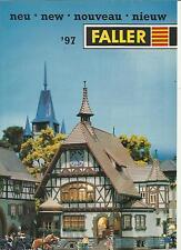 Katalog Faller 1997 Neuheiten Modelleisenbahnen Häuser Gebäude Zubehör HO N