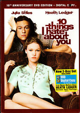 10 THINGS I HATE ABOUT YOU-HEATH LEDGER must woo surly Julia Stiles-FR,SPAN-DVD