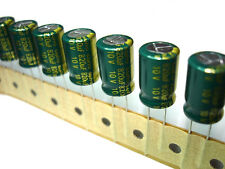 10pcs 820uF 10v 105c Sanyo GX Low ESR Radial Electrolytic Capacitors NEW