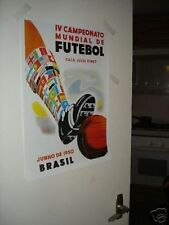 1950 Brazil World Cup Official Poster REPRO