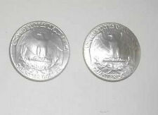 Antique Washington Silver Quarter cuff links