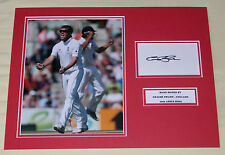 GRAEME SWANN ENGLAND ASHES CRICKET HAND SIGNED AUTOGRAPH PHOTO MOUNT