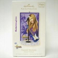 Hallmark 2008 HANNAH MONTANA Disney Channel Guitar Magic Keepsake Christmas MIB