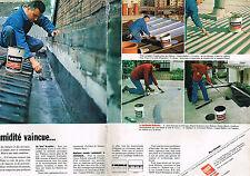 PUBLICITE  ADVERTISING  1980   RUBSON   l'humidité vaincue ( 2 pages)