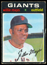 1971 TOPPS OPC O PEE CHEE BASEBALL #600 WILLIE MAYS VG-EX San Francisco Giants