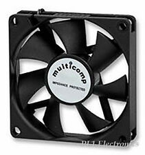 MULTICOMP   MC36291   DC FAN, AXIAL, 45MM, 12VDC, 0.105A