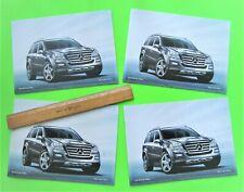 Four 2010 Mercedes Benz Gl Sport Ute Catalogs Brochure 18-pg w/ Colors Mint