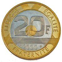 20 FRANCS 2000 BE (Belle Épreuve) Mont Saint-Michel Pessac F.403/16 var - FDC