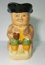 """Vintage Toby Jug No. 3 by Wood & Sons English Phillpots Collectible ~ 4.5"""" H"""
