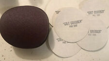 40 Piece 5 inch 80 Grit Sanding Discs With 5 Sticky Grit grabbers New Sandpaper