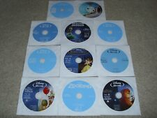 """Lot of 11 Children's Movies Disney Animated BLU RAY 'DISCS ONLY, NO CASES"""""""