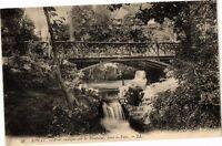 CPA Royat - Pont rustique sur la Tiretaine dans le Parc (250386)