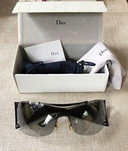 Authentic Christian DIOR Sunglasses DIORITO 2 PECVK Made in Italy ~NEAR MINT~