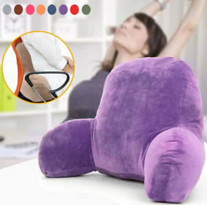 Large Sofa Pillows Cushions Back Rest Bed Plush Reading Lumbar Support Chair hot