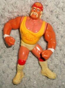 "Loose Vintage Hulk Hogan 5"" WWF WWE Wrestling Action Figure 1991"