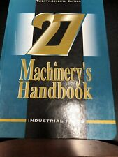 Machinery's Handbook, 27th Large Edition - Free Shippping