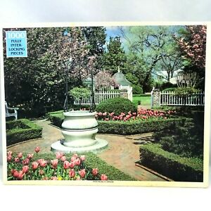 Tryon Palace NC 1000 Piece Jigsaw Puzzle Rainbow Works 75922 New Sealed Vintage