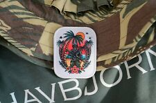 Tactical operator, on the beach Embroidered Patch Tactical morale patch