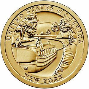 2021 P &/or D Innovation New York Dollar UNC