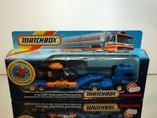 MATCHBOX K-126 DAF HELICOPTER TRANSPORTER ROYAL NAVY - 1:50? - EXCELLENT IN BOX