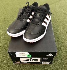 Adidas JR adicross V Junior's Spikeless Golf Shoe Size 3M Black/White/Red
