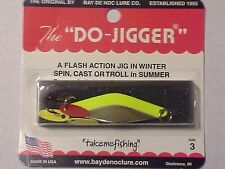 "Bay de Noc Do Jigger- Florescent Yellow Nickel - #3 - 2 1/4""- 1/3 oz."
