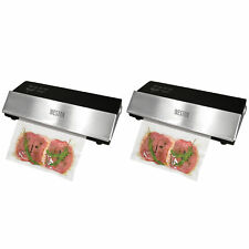 """Weston 11"""" 210W One Touch Professional Advantage Meat Vacuum Sealer (2 Pack)"""