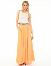 Rayon Hand-wash Only Regular Size Maxi Skirts for Women