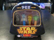 Vintage Star Wars PEZ Dispensers Collectors Set Darth Vader Tin Limited Edition!
