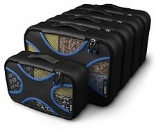 Shacke Pak - 5 Set Packing Cubes - Medium/Small - Luggage Packing Travel
