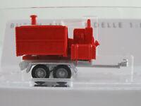 Busch 59965 Anhänger mit Häckselaufbau in silber/rot 1:87/H0 NEU/OVP