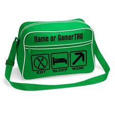 EAT SLEEP MINE - Shoulder Bag - Optionally Personalised