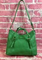 Kate Spade New York Park Slope Core Opus Satchel Kelly Green Leather