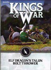 Kings of War Elf Perno Lanzador De Dragón Talon * Nuevo * 30% De Descuento PVP *