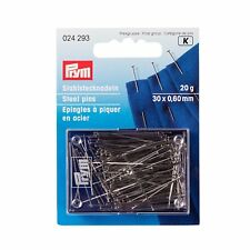 Stecknadeln 30mm Stahl Von Prym Stahlstecknadeln