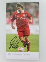 Sebastian Deisler ♤♤ FC Bayern München ♤♤ Autogrammkarte signiert