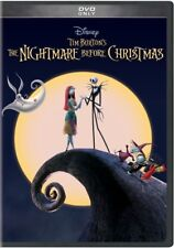 Tim Burton's The Nightmare Before Christmas (DVD,1993)