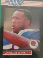 CORNELIUS BENNET BUFFALO BILLS FIGURE LNIP 1989 STARTING LINEUP-LIFE LIKE & FUN!