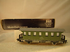Vintage Tin Metal Piko Passenger Car - HO scale