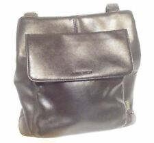 Nine West Small Purse Black Leather Bag Double Shoulder Strap