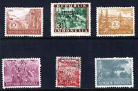 Indonesia early group including mint and overprint