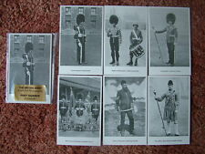 THE BRITISH ARMY - FOOT GUARDS. 6 card set.  Mint Condition.