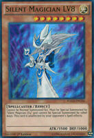 Silent Magician LV8 - Ultra Rare - YGLD-ENC04 - 1st Edition - Yugioh