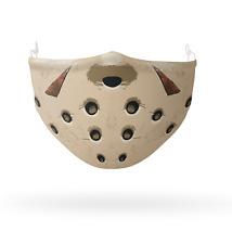 Jason Halloween Visage Masque, Réutilisable Coton Couvrant - 2 X Lavable Filtres
